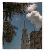 Historic Charleston Fleece Blanket
