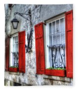 Historic Charleston Pirates House Fleece Blanket
