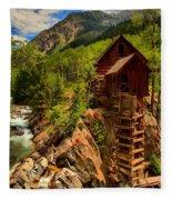 Historic Colorado Fleece Blanket