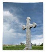 Historic Cross Fleece Blanket