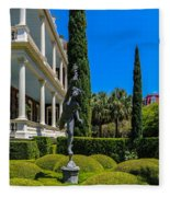 Historic Downtown Charleston Fleece Blanket