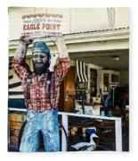 Historic Eagle Point Fleece Blanket