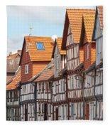 Historic Houses In Germany Fleece Blanket