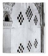 Symbol Of India Fleece Blanket