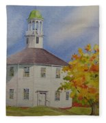 Historic Richmond Round Church Fleece Blanket