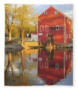 Historic Smithville Shop New Jersey Fleece Blanket