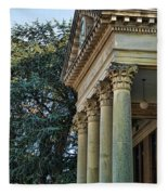 Historical Athens Alabama Courthouse Fleece Blanket