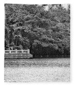 Hoan Kiem Lake II Fleece Blanket