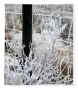 Hoarfrost 16  Fleece Blanket