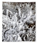 Hoarfrost 18  Fleece Blanket