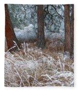 Hoarfrost 22 Fleece Blanket