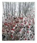 Hoarfrost 25 Fleece Blanket