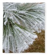 Hoarfrost 4 Fleece Blanket