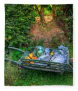 Hobbit Vegetables Fleece Blanket