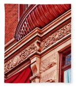 Hoboken Brownstone Art Fleece Blanket