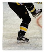 Hockey Dance Fleece Blanket