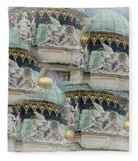 Hofburg Palace Dome Fleece Blanket