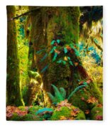 Hoh Grove Fleece Blanket