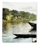 Hoi An Dawn 01 Fleece Blanket