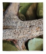 Holey Driftwood Fleece Blanket