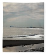Holgate Calm Surf  Fleece Blanket