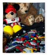 Holiday Bear Fleece Blanket