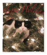 Holiday Card Fleece Blanket