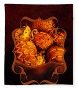 Holiday Citrus Bowl Iphone Case Fleece Blanket