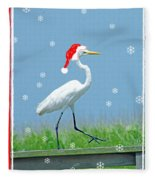 Holiday March Fleece Blanket