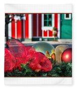 Holiday Reflections Fleece Blanket
