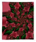 Holly Daze Fleece Blanket