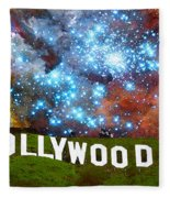 Hollywood 2 - Home Of The Stars By Sharon Cummings Fleece Blanket