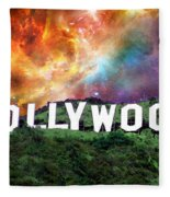 Hollywood - Home Of The Stars By Sharon Cummings Fleece Blanket