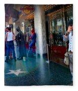 Hollywood Super Heros Fleece Blanket