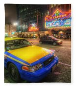 Hollywood Taxi Fleece Blanket