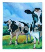 Holstein Amoogos Fleece Blanket