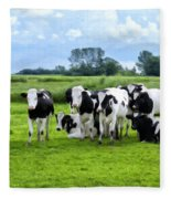 Holstein Heaven Fleece Blanket