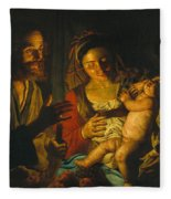 Holy Family Fleece Blanket