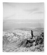 Holy Land Dead Sea, C1910 Fleece Blanket