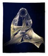 Holy Mother And Child Abstract II Fleece Blanket