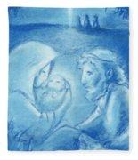 Holy Night Fleece Blanket