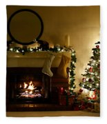 Home For The Holidays Fleece Blanket