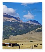 Home On The Range - A Westcliffe Ranch Fleece Blanket
