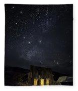 Home On The Range Fleece Blanket