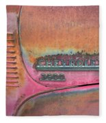 Homestead Chev Fleece Blanket