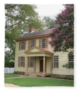 Homestead In Colonial Williamsburg Fleece Blanket