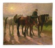 Homeward Fleece Blanket