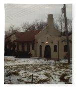 Homewood Station Fleece Blanket