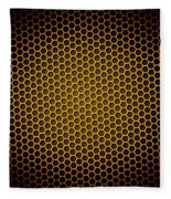 Honeycomb Background Fleece Blanket