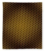 Honeycomb Background Seamless Fleece Blanket